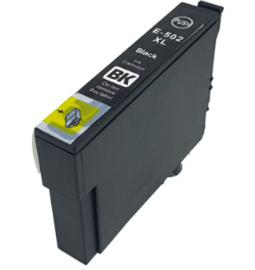 Geschikt Epson 502XL inktcartridge zwart hoge capaciteit van inktpatronenexpress