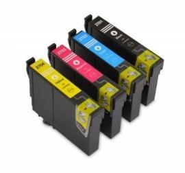 Set Epson T2711 tot  T2714 XL huismerk met chip