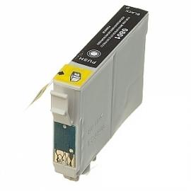 Epson T0801 zwart huismerk met chip
