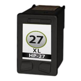 Geschikt Hp 27 zwart van inktpatronenexpress