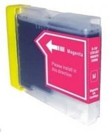 Geschikt Brother lc-970 / lc-1000 magenta van inktpatronenexpress