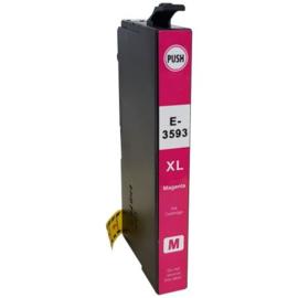 Epson 35XL (T3593) inktcartridge magenta hoge capaciteit huismerk