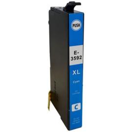 Epson 35XL (T3592) inktcartridge cyaan hoge capaciteit  huismerk