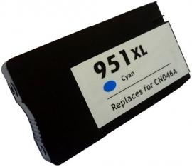 HP951 Cyan XL met chip Huismerk
