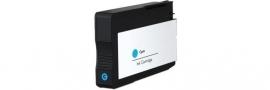 Geschikt HP 933 XL Cyaan met chip van inktpatronenexpress