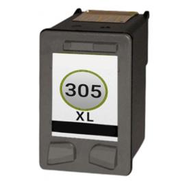 Geschikt HP 305XL (3YM62AE) inktcartridge zwart hoge capaciteit van Inktpatronenexpress.nl
