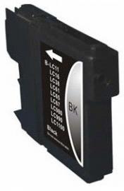 Brother lc-980 / lc-1100 zwart huismerk