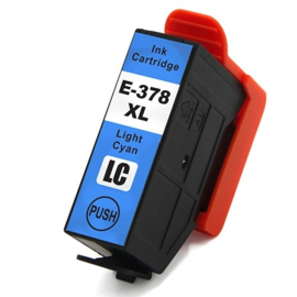 Epson 378XL T3785xl inktcartridge licht cyaan hoge capaciteit huismerk