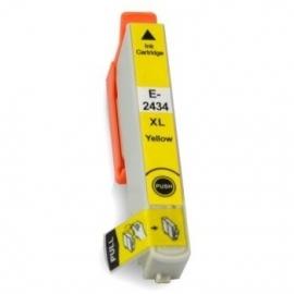 Epson T2434 XL geel huismerk met chip