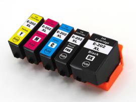 Geschikt Epson 202XL inktcartridge multi pack hoge capaciteit van inktpatronenexpress