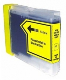 Brother lc-970 / lc-1000 geel huismerk