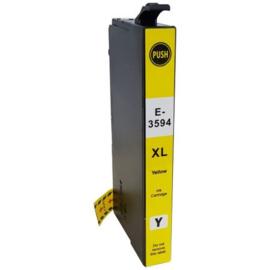 Epson 35XL (T3594) inktcartridge geel hoge capaciteit  huismerk