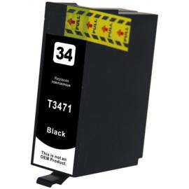 Epson 34XL (T3471) inktcartridge zwart hoge capaciteit huismerk