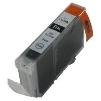 Geschikt Canon Cli-8 zwart dun met chip  van inktpatronenexpress