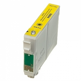 Epson T0804 geel huismerk met chip