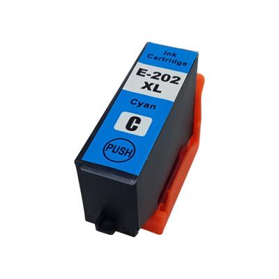 Geschikt Epson 202XL inktcartridge cyaan hoge capaciteit van inktpatronenexpress