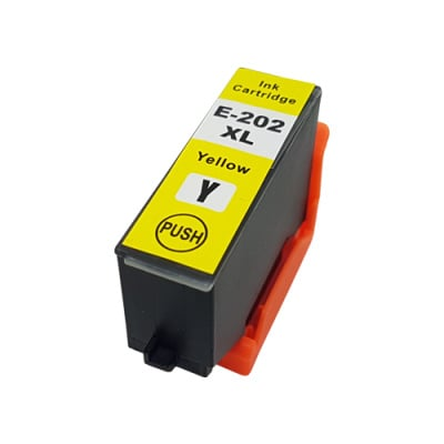 Geschikt Epson 202XL inktcartridge geel hoge capaciteit  van inktpatronenexpress