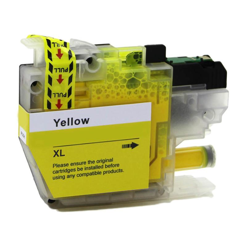 Geschikt Brother LC-3217 XL geel  van inktpatronenexpress