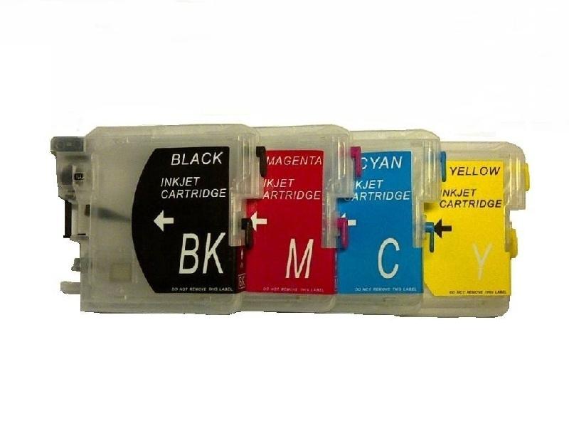 Brother LC-980 set van 4 refill cartridges