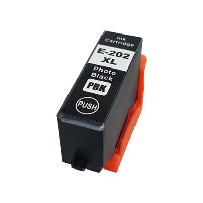 Geschikt Epson 202XL inktcartridge foto zwart hoge capaciteit van inktpatronenexpress