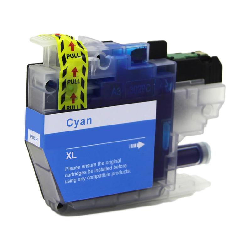Geschikt Brother LC-3217 XL cyaan  van inktpatronenexpress