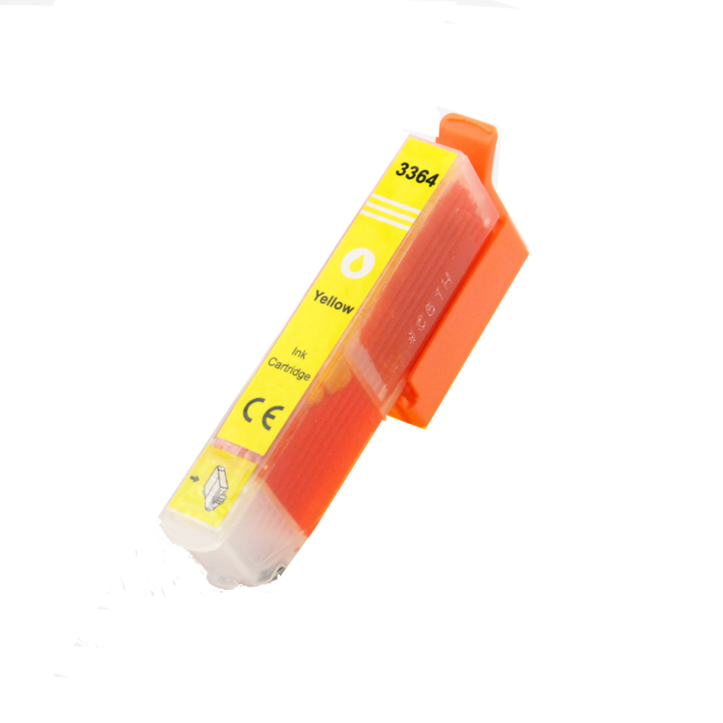 Epson T3364 XL geel huismerk met chip