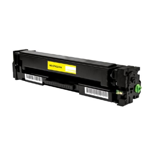 HP 201X 201A (CF402X CF402A) toner geel hoge capaciteit huismerk