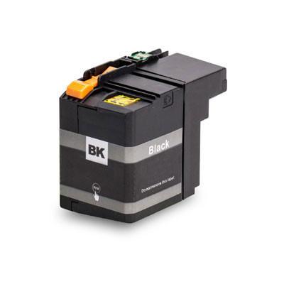 Brother lc-12E Zwart XXL huismerk met nieuw type chip