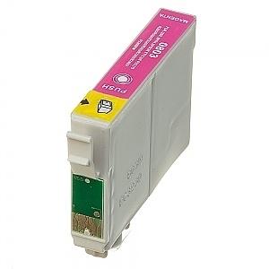 Geschikt Epson T0803 magenta met chip van inktpatronenexpress