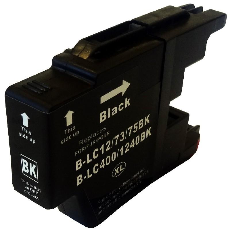 Geschikt Brother lc-1220, 1240, 1280 XL zwart van inktpatronenexpress