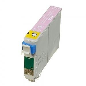 Geschikt Epson T0806 licht magenta met chip van inktpatronenexpress