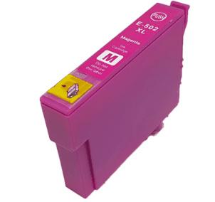 Geschikt Epson 502XL inktcartridge magenta hoge capaciteit van inktpatronenexpress