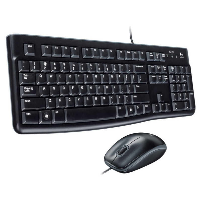 Logitech MK120 Toetsenbord + Muis set USB