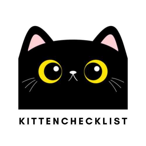 Kittenchecklist