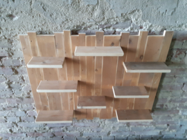 Wandbord Themabord hout / sloophout