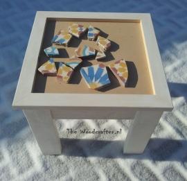 DIY mosaic tafeltjes