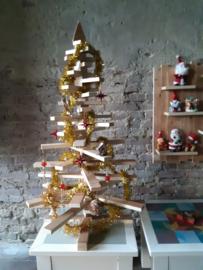 Sloophouten Kerstboom