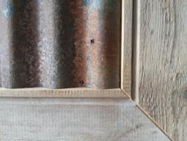 Magneetbord antiek grenen sloophout