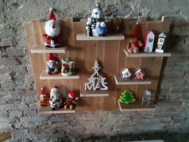 Wandbord Themabord hout / sloophout