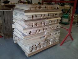 stoelen maken steigerdelen