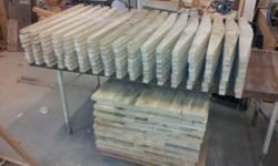 Poten voor steigerdeel stoelen