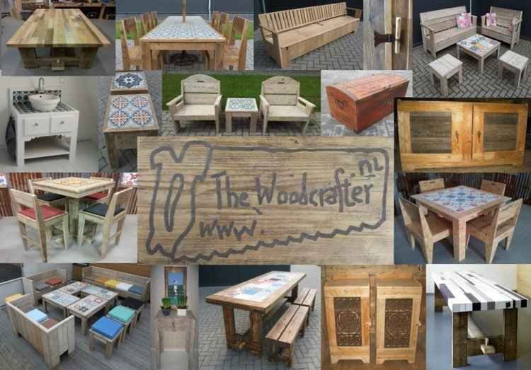 Collage maatwerk The Woodcrafter