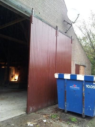 oude staldeuren / baanderdeuren