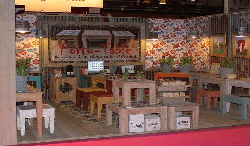 Beursstand Portu Table Wonen & Co Groningen