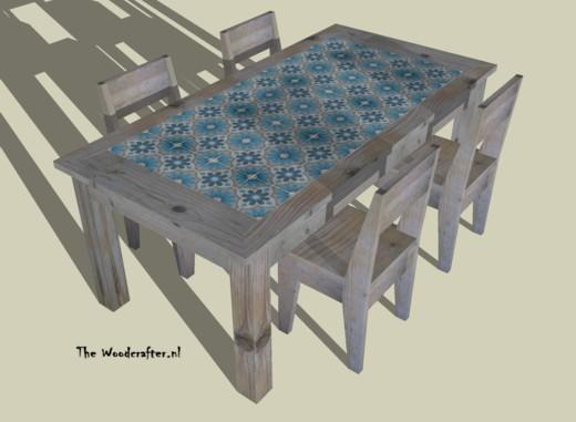 3D visualisatie tafel