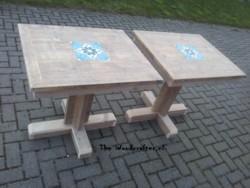 tafel steigerdelen met kruispoot