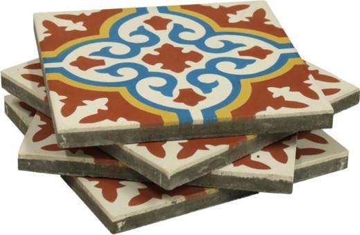 Portugese cementtegels