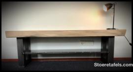 TV Meubel met stalen onderplaat