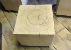 Eiken blok (35x35x35cm)