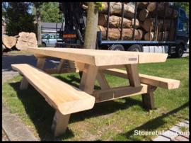 Stam-picknick tafel abeel sturdy